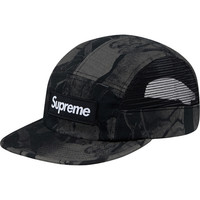 Supreme: Aspen Wood Camp Cap - Black Camo