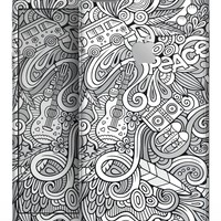 Hippie Dippie Doodles - Skin-kit for the iPhone 8 or 8 Plus
