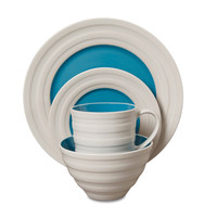 Gibson: Caribbean 16pc Dinnerware Blue, at 20% off!