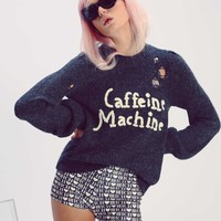 Caffeine Machine Misty Sweater