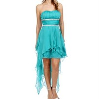 Jennifer-Teal Prom Dresses