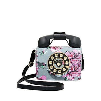 BETSEYS MINI PHONE BAG: Betsey Johnson