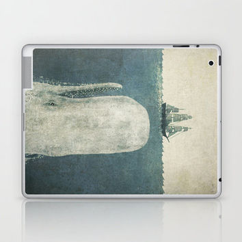 White Whale Laptop & iPad Skin by Terry Fan