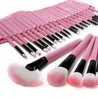 Beau Belle Makeup Brush Set with Case