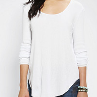Urban Outfitters - byCORPUS Skinny Ribbed Top