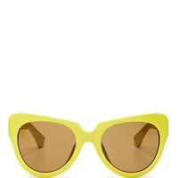 For Dries Van Noten Cat-Eye Acetate Sunglasses
