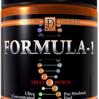 Dynamic Formulas Formula 1 Ultra-Concentrated Pre-Workout Fuel