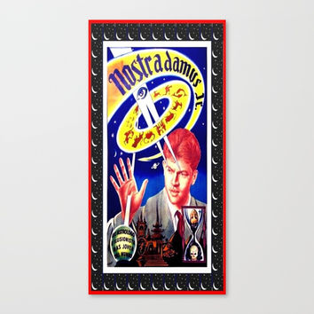 nostradamus jr. ( Spanish) Canvas Print by Kathead Tarot/David Rivera
