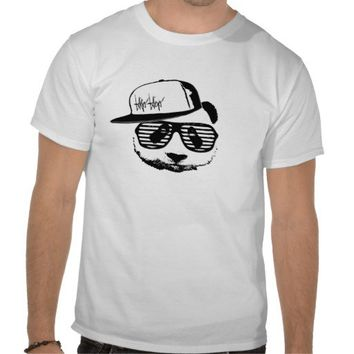 Ghetto panda t-shirt from Zazzle.com