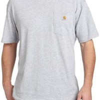 Carhartt Men`s Lightweight Shortsleeve Pocket T-Shirt