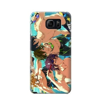 P1904 Free Iwatobi Swim Club Phone Case For Samsung Galaxy Note 5