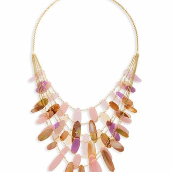 Patricia Statement Necklace in Blush Mix | Kendra Scott
