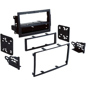 Metra 2004-2011 Dodge And Jeep And Chrysler Single- Or Double-din Installation Multi Kit For Vehicles With Factory Navigation
