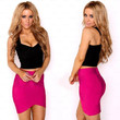 Stretch Bodycon Mini Skirt