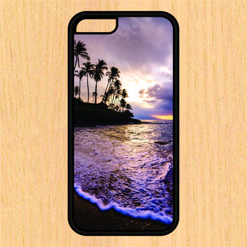 Beach Scene Sec1 Print Design Art iPhone 4 / 4s / 5 / 5s / 5c /6 / 6s /6+ Apple Samsung Galaxy S3 / S4 / S5 / S6