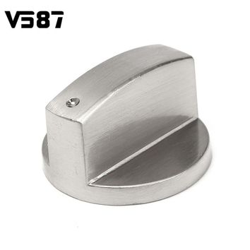 3 Styles Useful Kitchen Silver Gas Stove Knobs Cooker Oven Control Rotary Knobs Hob Kitchen Switch Control Cookware Parts