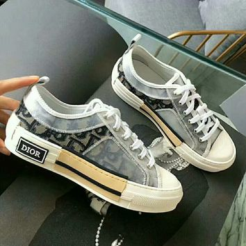 Dior Women Fashion low top Casual sneaker Shoes Best Quality