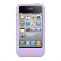 SwitchEasy Colors Pastel Silicone Case for iPhone 4 & 4S - Lilac