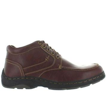 VONES2C Deer Stags Waverly - Redwood Leather Lace-Up Moc Boot