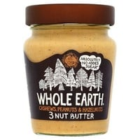Whole Earth 3 Nut Butter (227g)