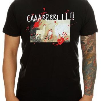 Llamas With Hats Caaarl T-Shirt
