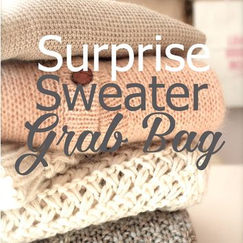 Surprise Sweater Grab Bag!