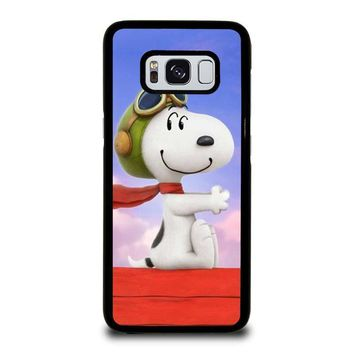 snoopy dog samsung galaxy s3 s4 s5 s6 s7 edge s8 plus note 3 4 5 8  number 1