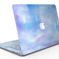 Blue 0021 Absorbed Watercolor Texture - MacBook Air Skin Kit