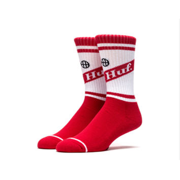 Can Crew Sock In Red