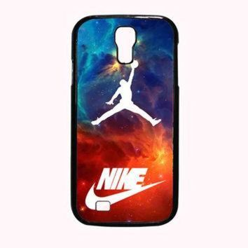 CREYUG7 air jordan nike nebula FOR SAMSUNG GALAXY S4 CASE *PS*