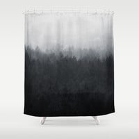 Undone Shower Curtain by Tordis Kayma