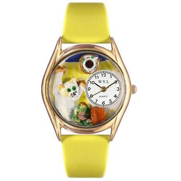 Bad Cat Watch Small Gold Style