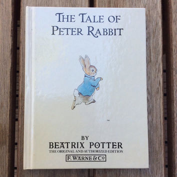 The Tale of Peter Rabbit - Vintage Beatrix Potter Children's Book, 1987