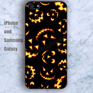 Halloween fire colorful iPhone 5/5S case Ipod Silicone plastic Phone cover Waterproof