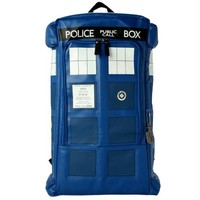 Doctor Who cosplay backpack