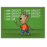 Groot's Detention Poster
