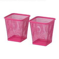 Ikea Steel Pencil Cup, Pack of 2, Pink