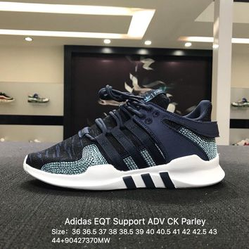 Adidas EQT Support ADV CK Parley Gray White Spirit Trainers Sneaker