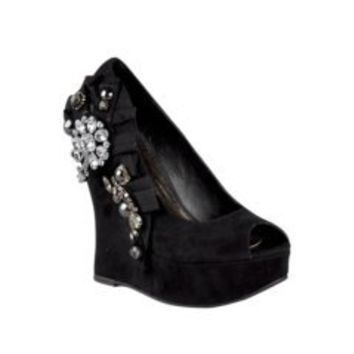 Womens Zigi Soho Josette Wedge, Black, at shi by Journeys