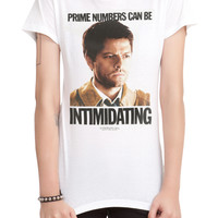 Supernatural Prime Numbers Girls T-Shirt
