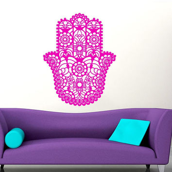 Hamsa Hand C Vinyl Wall Decal