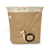 Babies R Us  Safari Collapsible Storage Nursery Basket