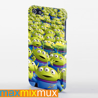Toy Story Aliens The Claw iPhone 4/4S, 5/5S, 5C Series Full Wrap Case