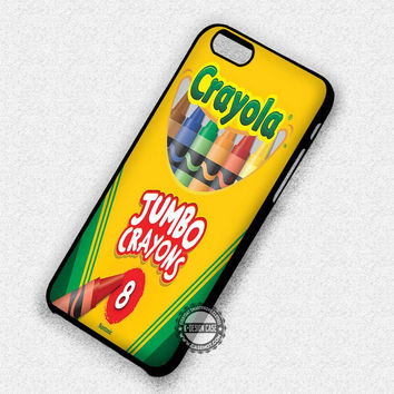 Crayola Crayons Colors - iPhone 7 6S SE 4 Cases & Covers