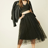 Rare London Tulle Midi Skirt