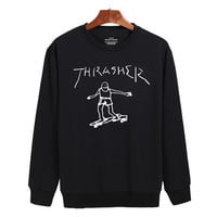 Thrasher Skateboard The Amazing Spider-Man Sweater sweatshirt unisex adults size S-2XL