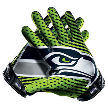 Seattle Seahawks Nike Team Authentic Series Vapor Jet 2.0 Gloves