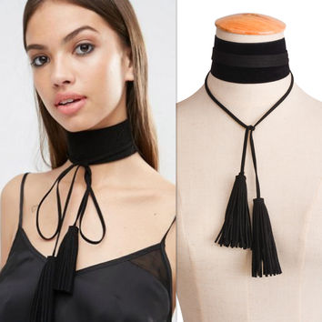 Jewelry Gift New Arrival Shiny Stylish Tassels Handcrafts Chain Necklace [11668795855]
