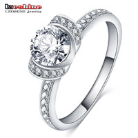 LZESHINE Women Gift Rings CZ Diamond Fashion Cheap Engage Rings for Women Joyas Jewelry Anillos Anel Feminino CRI0381