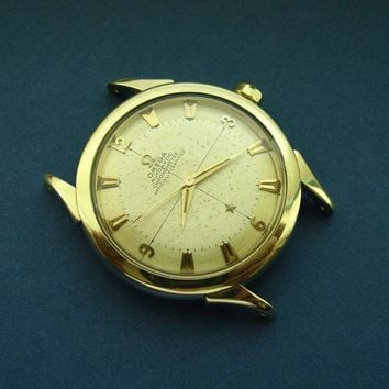 1950's Omega No Name Constellation / Globemaster / Correct 13M Serial Number